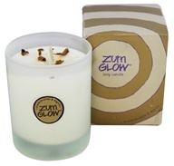 Zum Glow Soy Candle in a Glass