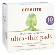 Ultra-Thin Pads 100% Natural Cotton Overnight