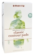 Classic Contour Pads 100% Natural Cotton