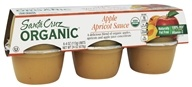 Organic Apple Sauce Cups