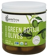Organic Green Botija Olives