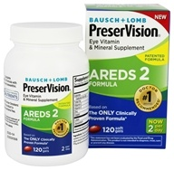 Bausch & Lomb - PreserVision Eye Vitamin AREDS 2 Formula - 120 Softgels
