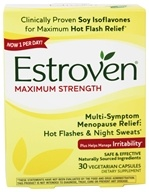 Estroven - Menopause Relief Maximum Strength - 30 Vegetarian Capsules