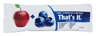 That's It - Fruit Bar Apples + Blueberries - 1.2 oz.