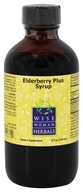 Wise Woman Herbals - Elderberry Plus Syrup - 4 oz.