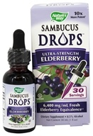 Nature's Way - Sambucus Drops Ultra-Strength Elderberry - 30 ml.