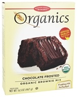 European Gourmet Bakery - Organic Brownie Mix Chocolate Frosted - 16.5 oz.