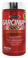 Muscletech Products - Garcinia 4X SX-7 - 80 Caplets LUCKY PRICE