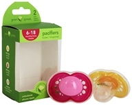 Green Sprouts Pacifiers for Girls 6-18 Months