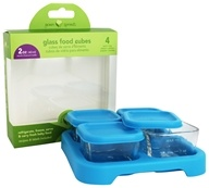 Green Sprouts Glass Baby Food Cubes 2oz. Size + Tray