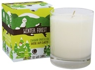 Winter Forest GMO-Free Soy Wax Candle Glass Tumbler