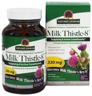 Nature's Answer - Milk Thistle-8 330 mg. - 90 Vegetarian Capsules