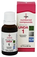 Numbered Compounds UNDA 1