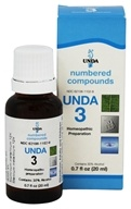 Numbered Compounds UNDA 3