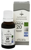Numbered Compounds UNDA 20
