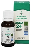 Numbered Compounds UNDA 24