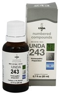 Numbered Compounds UNDA 243