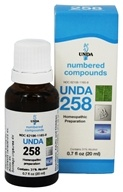 Numbered Compounds UNDA 258
