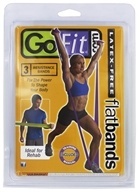 Flat Bands Latex-Free - 3 Resistance Bands
