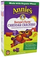 Organic Bernie's Farms Cheddar Crackers