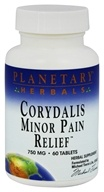 Planetary Herbals - Corydalis Minor Pain Relief 750 mg. - 60 Tablets