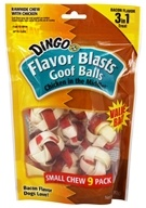 Chicken In The Middle Flavor Blasts Rawhide Chew Goof Balls