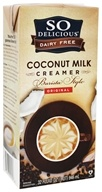 So Delicious - Dairy Free Coconut Milk Creamer Barista Style Original - 32 oz.