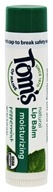 Tom's of Maine - Organic Moisturizing Natural Lip Balm Peppermint - 0.15 oz.
