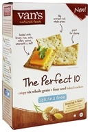 Van's Natural Foods - Gluten-Free Baked Crackers The Perfect 10 - 4 oz.