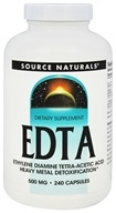 Source Naturals - EDTA 500 mg. - 240 Capsules