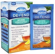 Hylands - Defend Severe Cold & Flu Natural Lemon & Honey - 8 Packet(s)