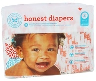 The Honest Company - Honest Diapers - Size 4 Giraffes - 29 Diaper(s)