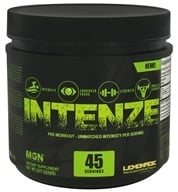 Muscle Gauge Nutrition - Intenze Pre-Workout Lemonade 45 Servings - 225 Grams