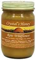 Crystal's All Natural - 100% Pure Raw Honey Wildflower - 17 oz.