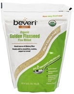 Organic Golden Flaxseed Fine Milled
