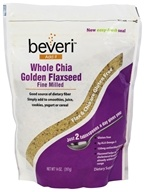 Whole Chia Golden Flaxseed Fine Milled