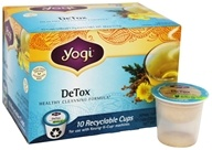 DeTox Healthy Cleansing Tea Caffeine Free Recyclable K-Cups