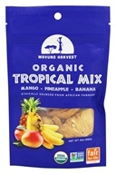 Mavuno Harvest - 100% Organic All Natural Dried Fruit Tropical Mix - 2 oz.