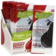 Veggie-Go's - Chewy Fruit & Veggie Snacks Mountain Berry Spinach - 0.42 oz.