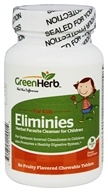 Green Herb - Eliminies For Kids Herbal Parasite Cleanser - 80 Chewable Tablets