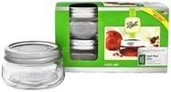 Wide Mouth 8 oz. Half Pint Mason Jars Elite Collection Design Series