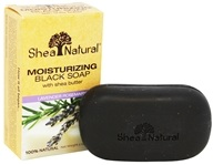 Moisturizing Black Soap with Shea Butter
