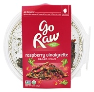 Go Raw - Organic Salad Snax Raspberry Vinaigrette - 1 oz.