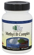 Ortho Molecular Products - Methyl B Complex - 60 Capsules