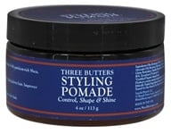 Three Butters Styling Pomade for Men
