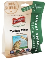 Bravo Pet Foods - Freeze Dried Training Treats Turkey Bites - 2.5 oz.