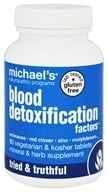 Michael's Naturopathic Programs - Blood Detoxification Factors - 90 Vegetarian Tablets