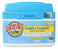 Organic Toddler Formula Milk Drink Powder