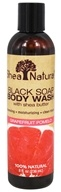 Black Soap Body Wash with Shea Butter
