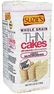 Suzie's - Whole Grain Thin Cakes Lightly Salted Brown Rice - 4.9 oz.